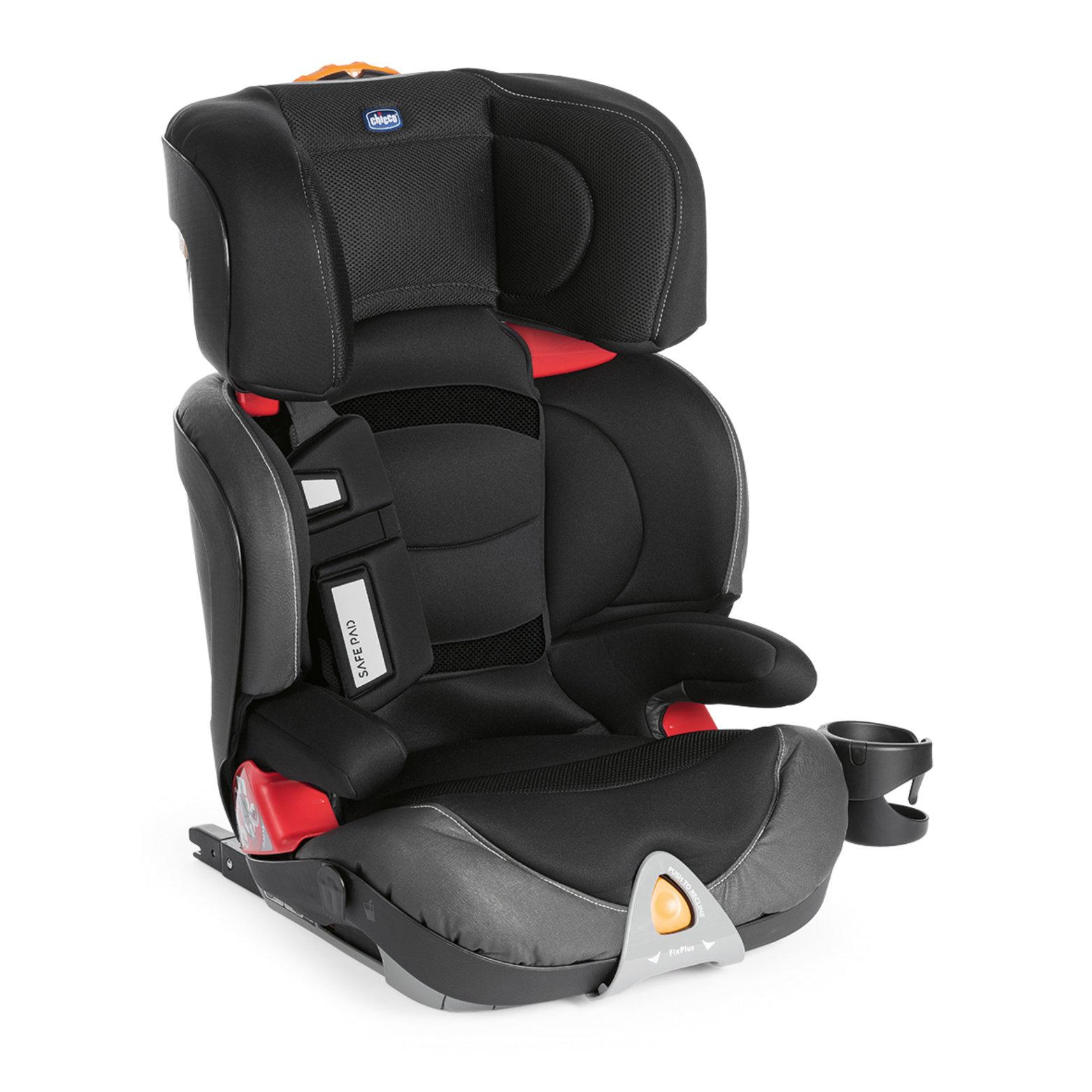 Autosedačka Oasys 2-3 FixPlus Evo - Jet Black 15-36kg