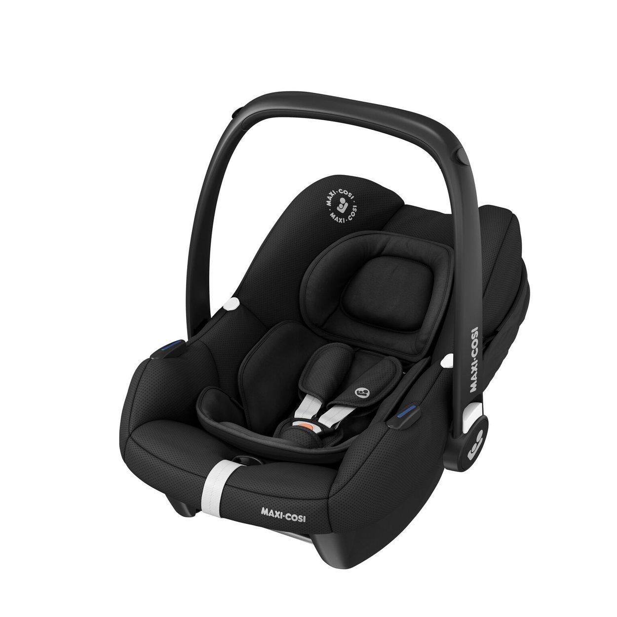 Autosedačka Tinca i-Size 0-13kg Essencial Black