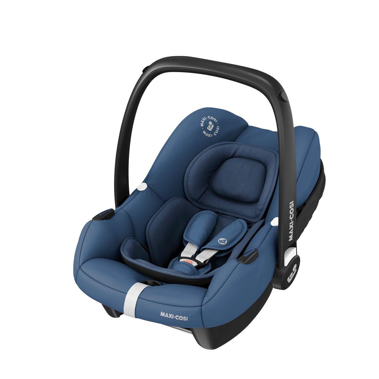 Autosedačka Tinca i-Size 0-13kg Essencial Blue