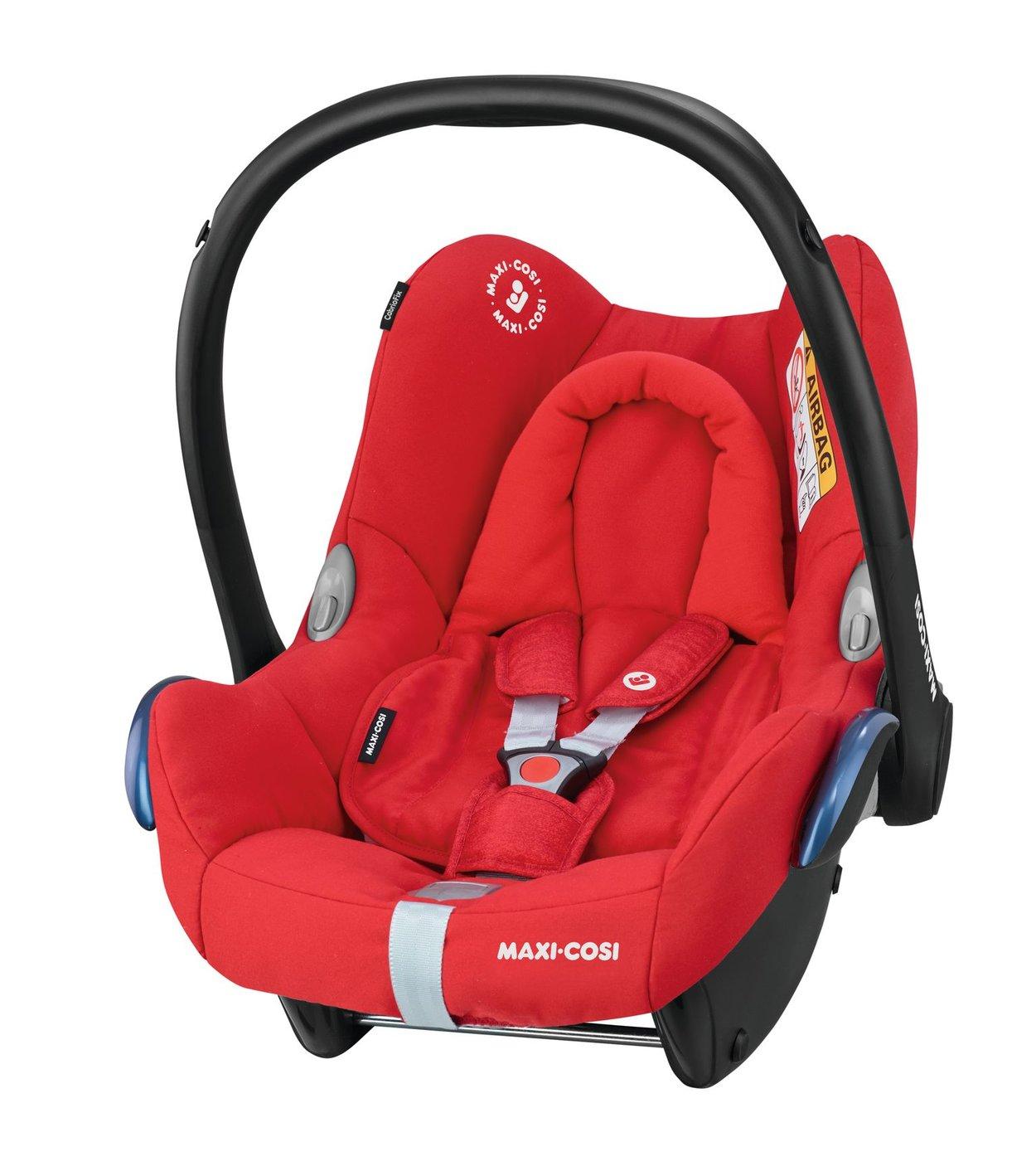 Autosedačka CabrioFix Nomad Red 0-13kg