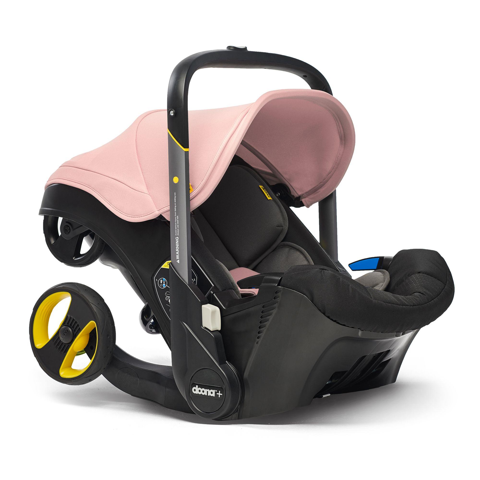 Autosedačka Doona Plus - Blush Pink