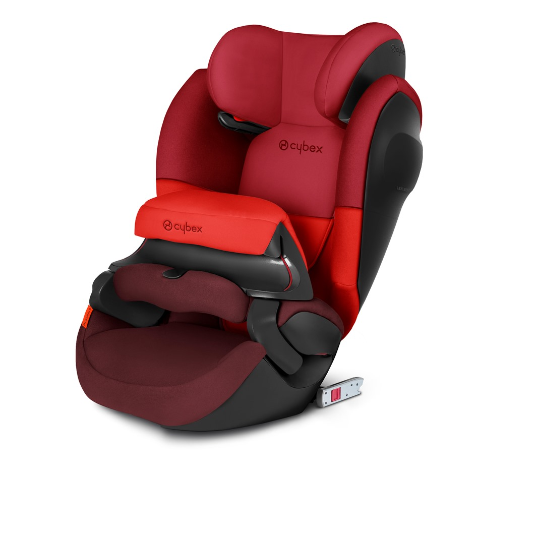 CYBEX PALLAS M-FIX SL RUMBA RED 2021