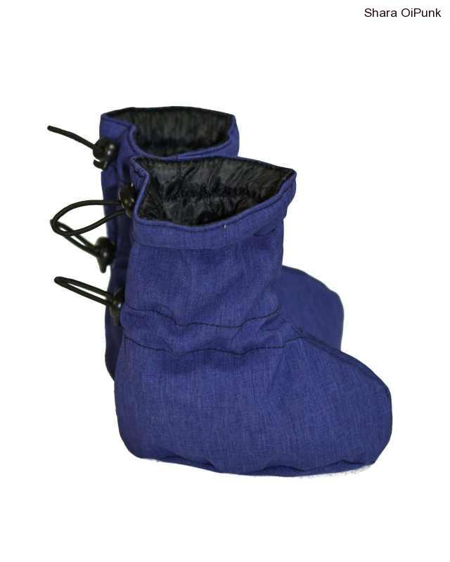 Softshellové capačky modro fialové s flece podšívkou
