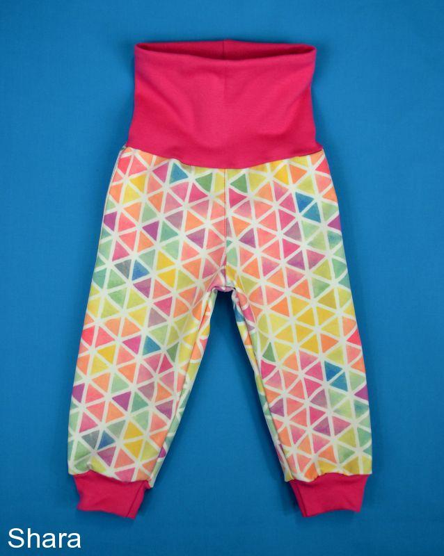 Detské nohavice softshellové - rastúce