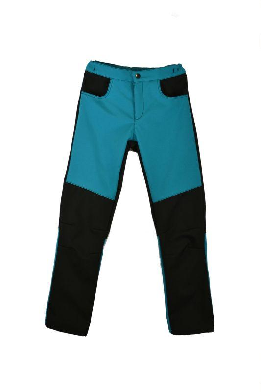 Detské nohavice softshellové - na cvok 86-116