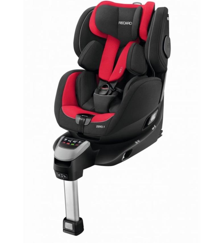 Recaro zero.1 i-Size autosedačka - Racing Red