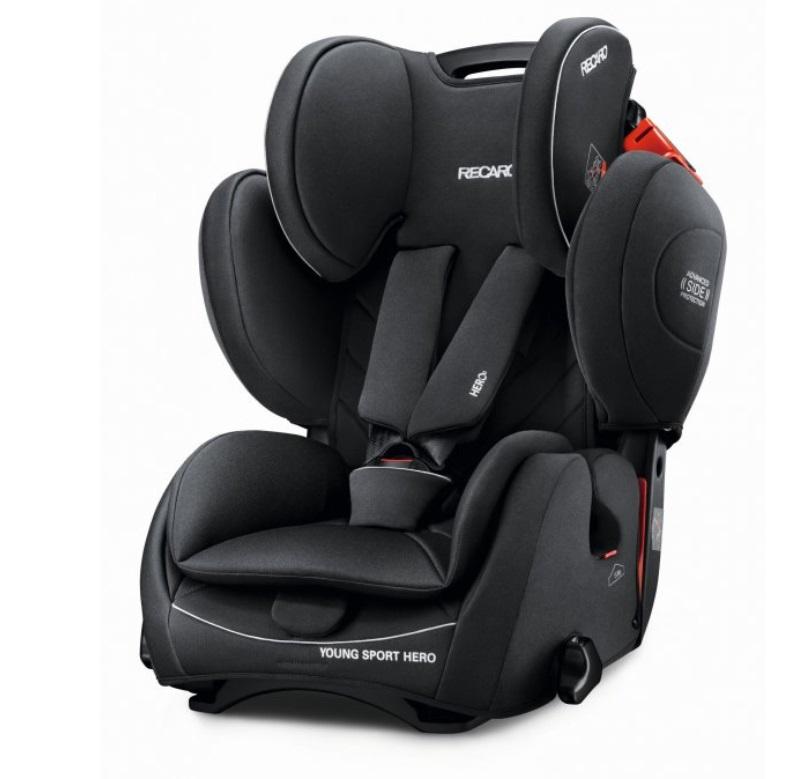 Recaro Young Sport HERO autosedačka - Core Performance Black