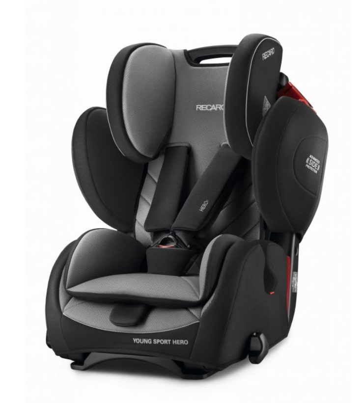 Recaro Young Sport HERO autosedačka - Core Carbon Black