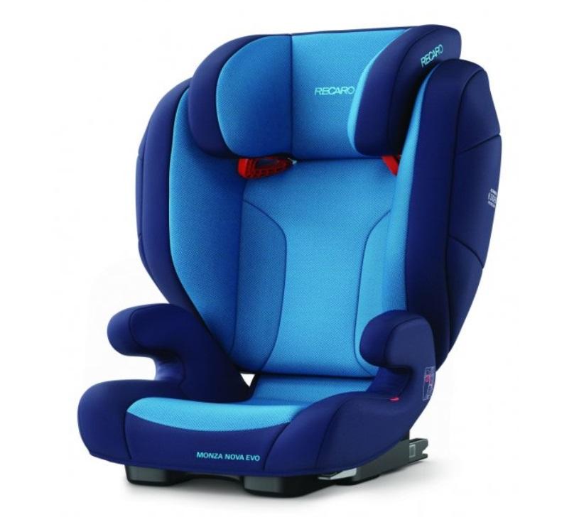 Recaro Monza Nova Evo Seatfix autosedačka - Core Xenon Blue