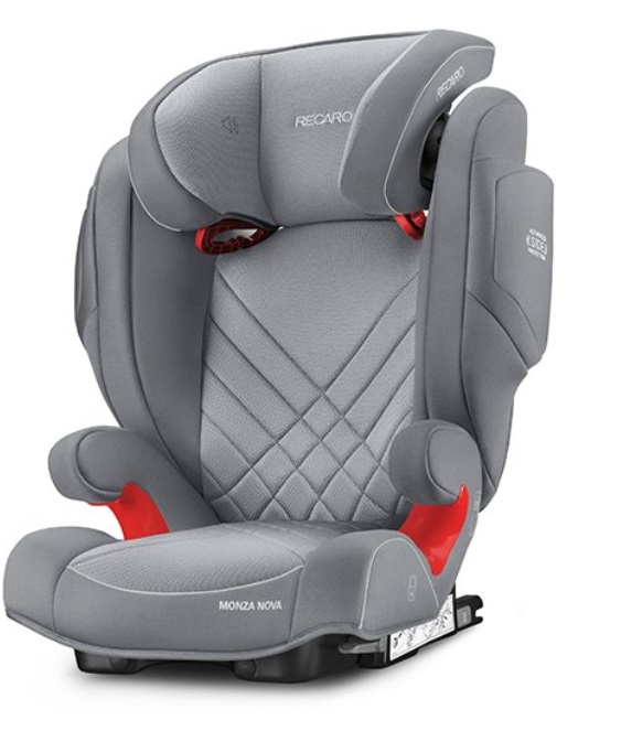 Recaro Monza NOVA 2 Seatfix autosedačka -Aluminium Grey