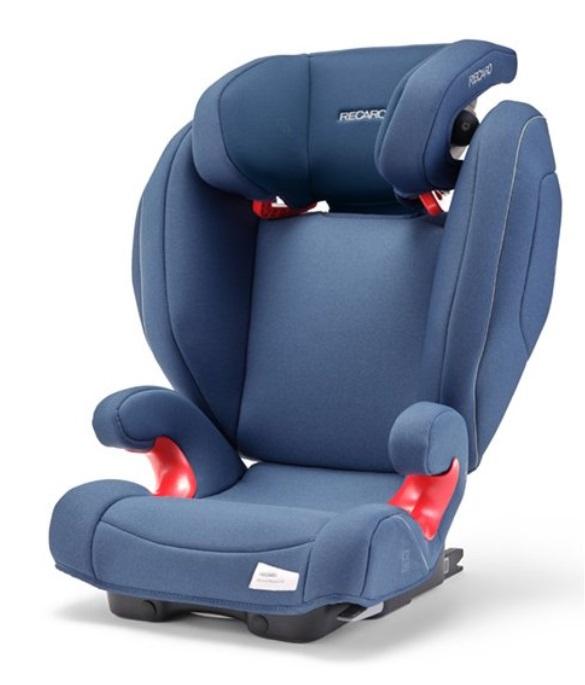 Recaro Monza NOVA 2 Seatfix autosedačka - Prime Sky Blue
