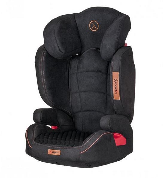 Detská autosedačka Coletto Avanti 15-36 kg - čierna