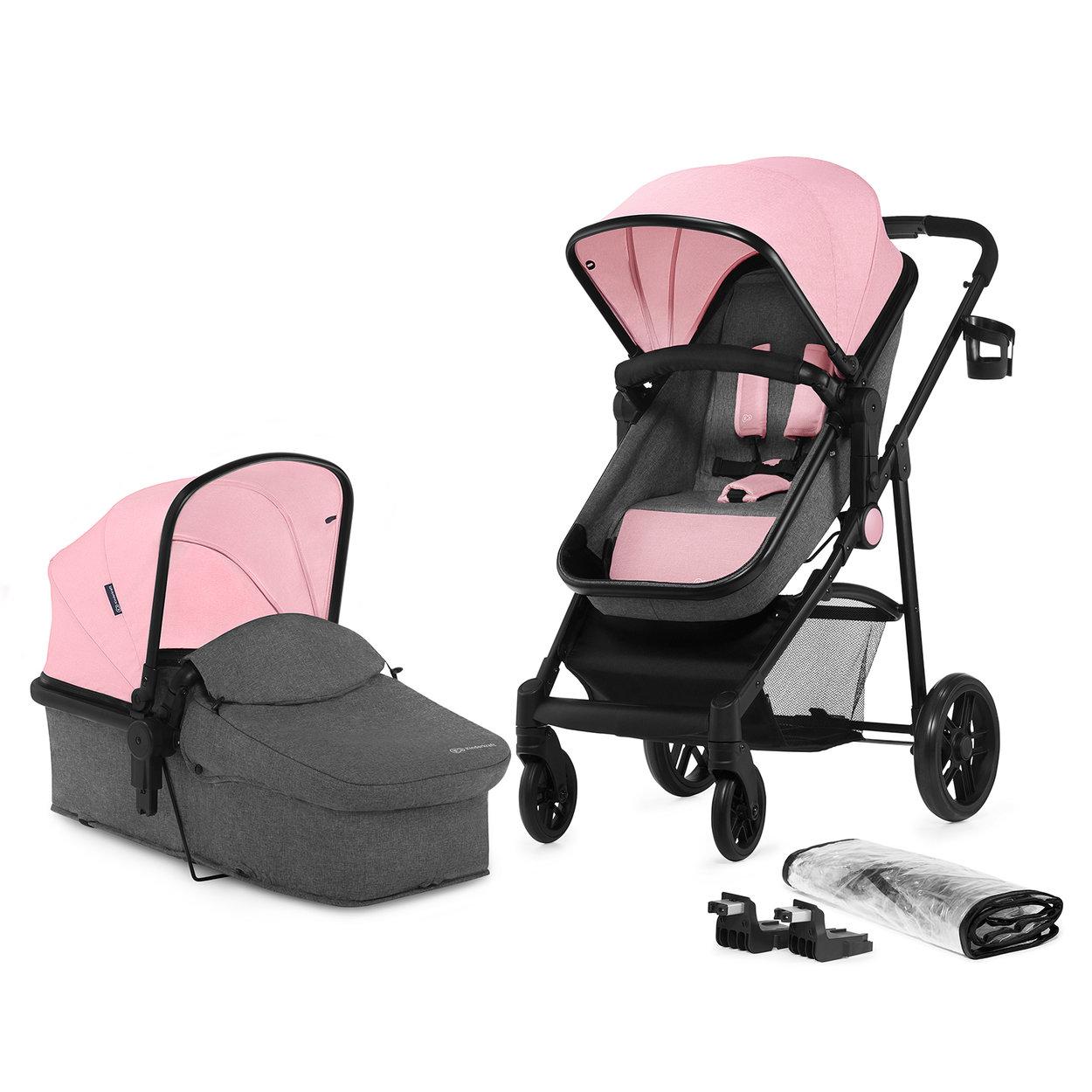 Kombinovaný kočík Kinderkraft Juli 2v1 - Pink