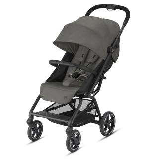 CYBEX EEZY S+ 2 BLACK SOHO GREY 2021