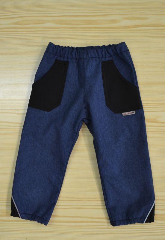 Detské nohavice softshellové, veľ. 122-134