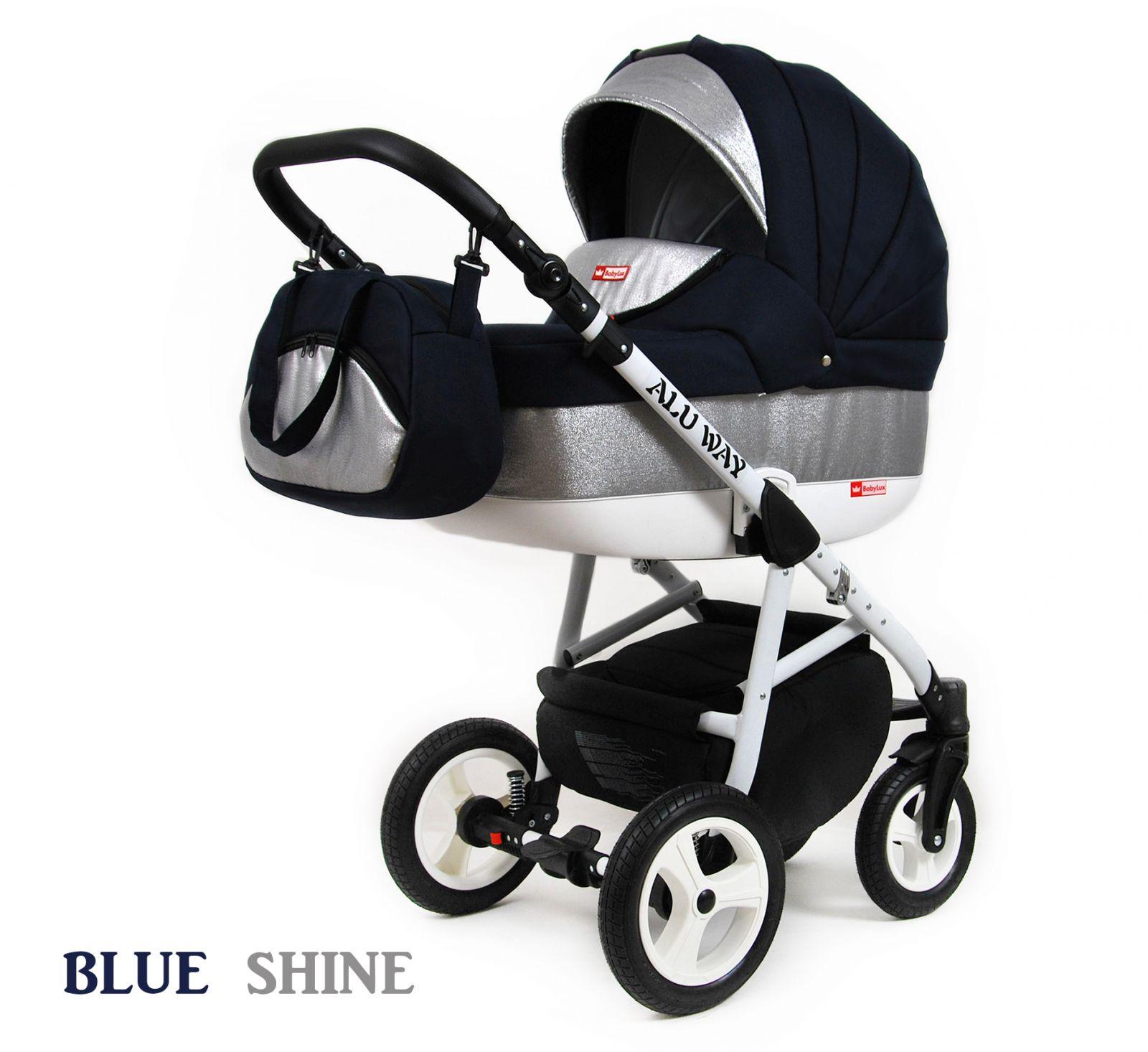 Kombinovaný kočík Raf-pol Alu way -Blue shine (3-kombinácia)